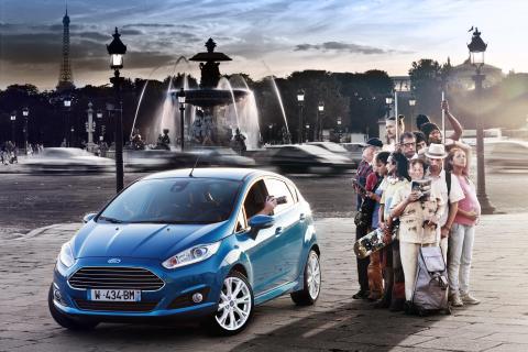 Nye Fiesta vises for første gang i Amsterdam 6. september
