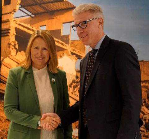 Sony stöttar UNOPS globala innovationscenter i Lund