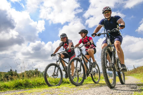 Biken im Vinschgau: Die schönsten MTB Touren im Westen Südtirols