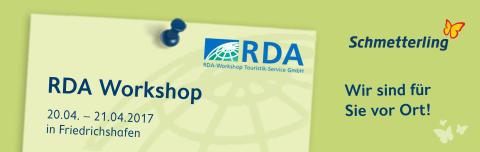 RDA in Friedrichshafen - Schmetterling ist für Sie vor Ort