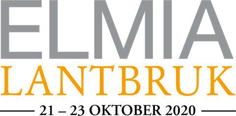Elmia Lantbruk 21-23 oktober 2020