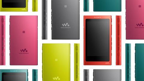 NW-A35 Walkman® fra Sony kombinerer personlighed med Hi-Res lydkvalitet