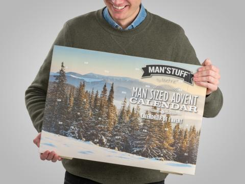 Man Stuff-julekalender