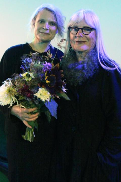 Cathrine Bülow och Ulla Skoog.