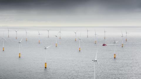 The 'Esvagt Supporter' put the wind in ESVAGT's sails