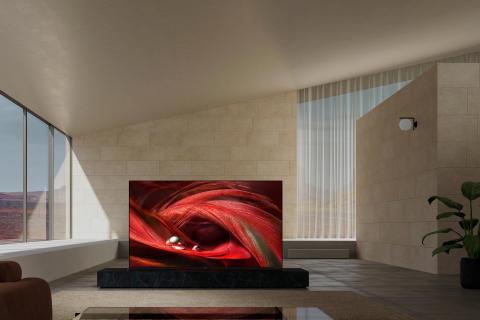 In Kürze verfügbar: zwei neue LCD-Fernseher von Sony – darunter das 4K HDR Full Array-Flaggschiffmodell BRAVIA XR X95J