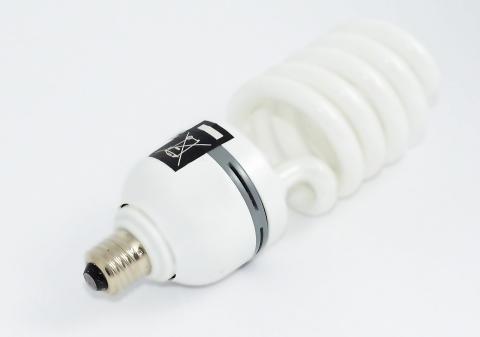 Vær OBS på forbud mot miljøgifter ved valg av lyskilder