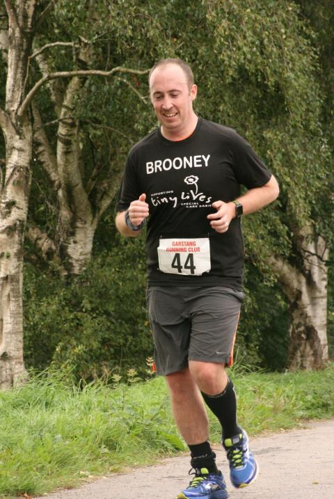 Driver Kevin Brown competing in last year's Great North Run