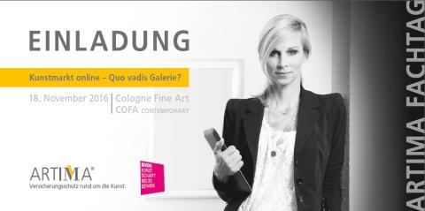 Kunstmarkt online – ARTIMA Fachtag untersucht Grenzen und Möglichkeiten