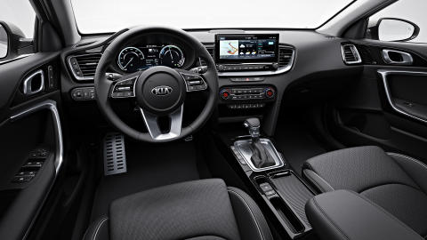 Interiør i Kia Ceed Stasjonsvogn Plug-in Hybrid