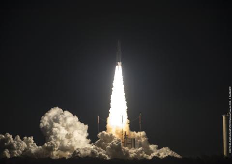 EUTELSAT 172B satellite soars into space
