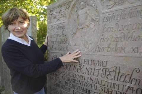 St. Severins Pastorin Susanne Zingel