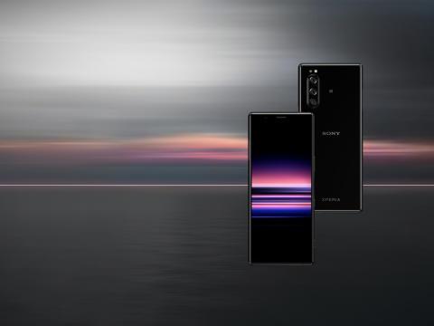 Xperia 5 slutter sig til Sonys flagskibsserie – med kreative underholdningsoplevelser i elegant og kompakt design