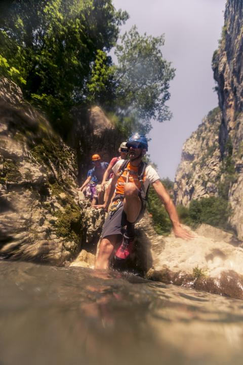OutdoorTestival im Trentino Canyoning/River Trekking