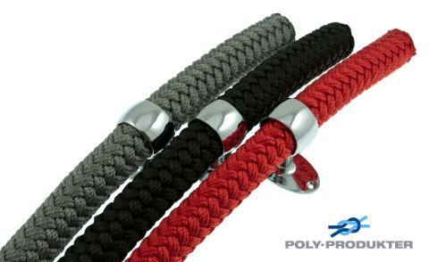 Bild med länk till pressrelease DESIGN - ny serie flätade Trappräckslinor / Dekorationslinor från Poly-Produkter