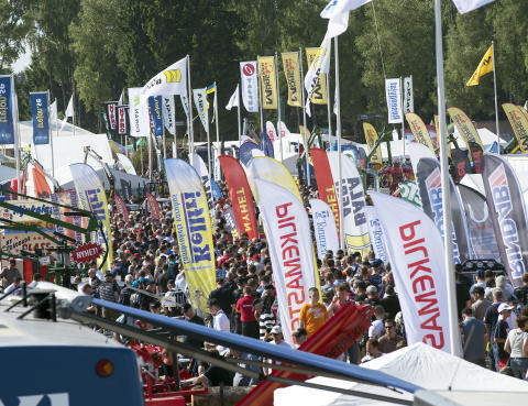 Press Invitation to Elmia Wood 7-10 June: Welcome to the whole world's forestry fair!