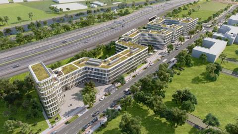 Grundsteinlegung für BRAIN BOX BERLIN