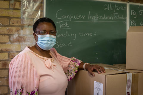 Mpumalanga students receive the gift of connectivity
