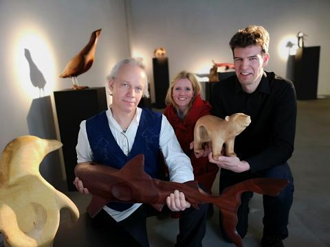 Pop up Galerie in Kiel zeigt Kunst die berührt: human-nature-future von Marcus Meyer und Thomas Heweling