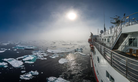 Hurtigruten introduces Northwest Passage by hybrid ship and voyages to Franz Josef Land