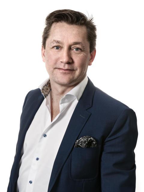 Fredrik Möller, regionchef för Proofpoint i Norden och Baltikum.