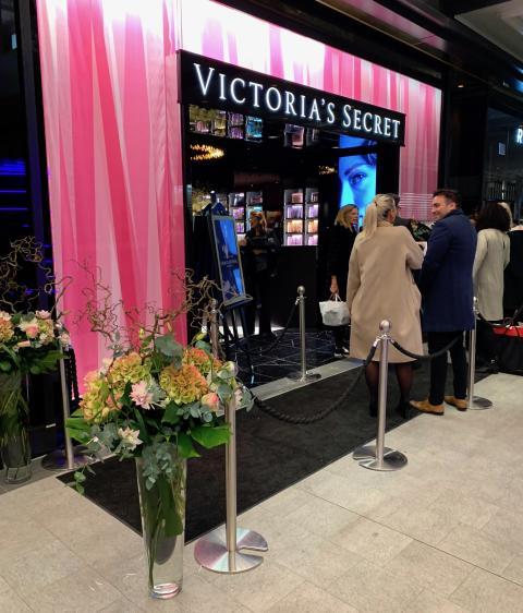 Victoria´s Secrets flaggskeppsbutik invigs i Stockholm