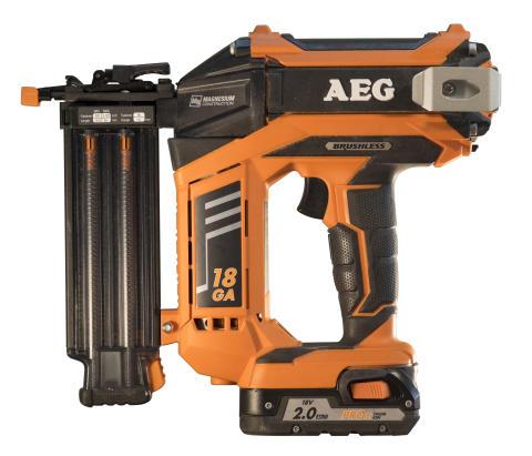 AEG Powertools B18N18 batteridrevet 18G spikerpistol