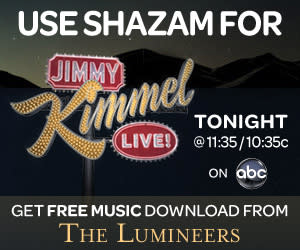 """""""Jimmy Kimmel Live"""" Becomes the First Late Night Show to be """"Shazamable"""""""