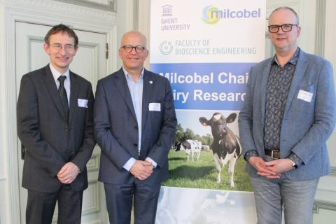 UGent en Milcobel lanceren leerstoel voor zuivelonderzoek