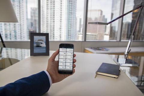 OnDeck Lifestyle Büro Kontrolle der Sensoren