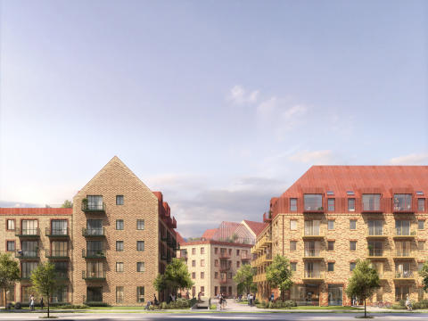 NREP og AG Gruppen opfører ca. 400 nye, bæredygtige boliger i Københavns Sydhavn