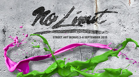 This is the line up for No Limit Street Art, Borås Sweden 2015