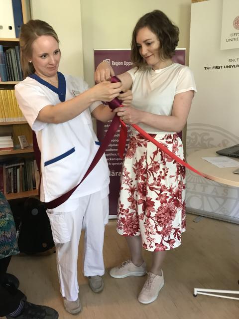 Sandra och Malena inviger de akademiska vårdcentralerna