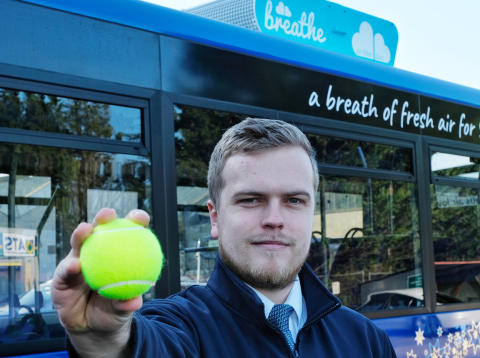 Go North East to launch innovative pollution-busting bus to help clean up urban air