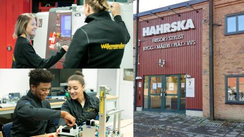 Wijkmanska gymnasiet läggs ned och programmen flyttar till Hahrska gymnasiet