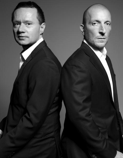 Dr Henrik Lindström and Giovanni Fili