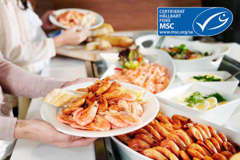 ForSea has been certified in accordance with MSC/ASC traceability standards, and from January 2020 ForSea will be the first shipping company in the world to serve only certified fish and seafood from sustainable sources.