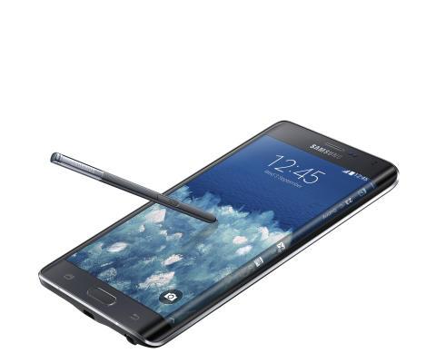 Galaxy Note Edge - næste generations smarte skærmteknologi