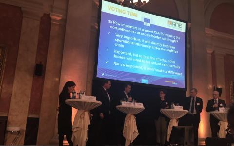 Green Cargos VD Jan Kilström på möte med Violetta Bulc, EU-kommissionär för transportfrågor