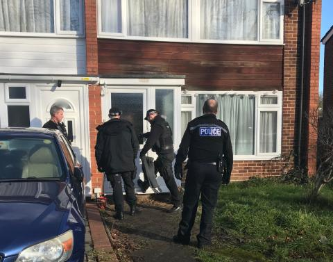 County lines activity in Thames Valley leads to over 100 arrests, over 130,000 pounds in cash seized and over 100 people safeguarded