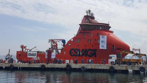 MHI Vestas SOV klar til sea trials
