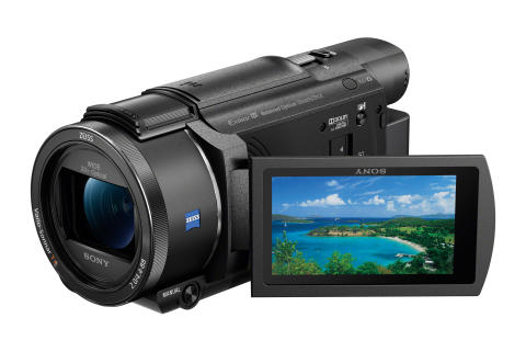 Preserve life's most precious moments in 4K with Sony's new Handycam® line up