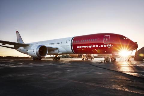 Norwegian med högre kabinfaktor och högre enhetsintäkter i oktober