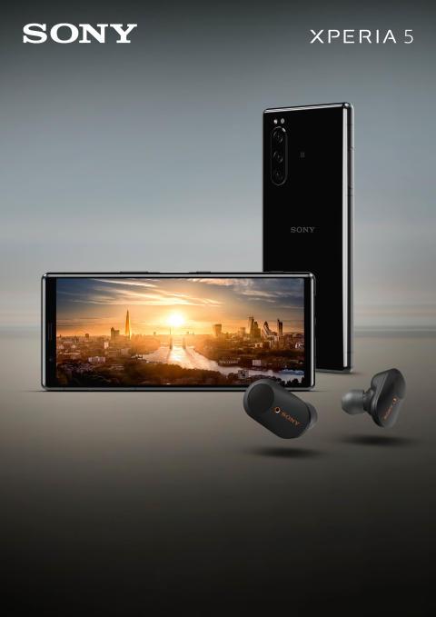 Sony vous présente le Xperia 5, fin, compact, et disposant de spécificités de haute qualité