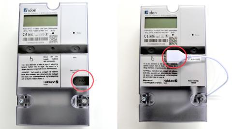 Har du fått ny, automatisk strømmåler? Da kan du aktivere denne utgangen.