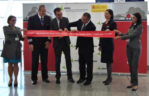Norwegian ha inaugurado hoy su base operativa en Palma con más de 50.000 billetes vendidos a la Península