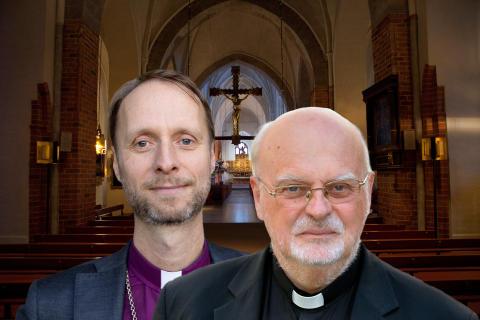 Unikt möte mellan biskopar i Västerås domkyrka