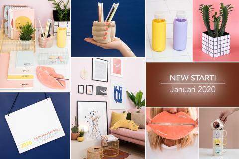 Lagerhaus välkomnar 2020 med kollektionen NEW START!