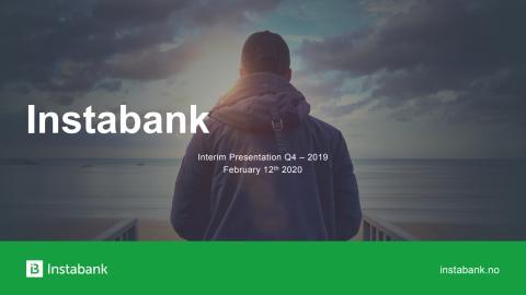 Instabank Q4 2019 Presentation