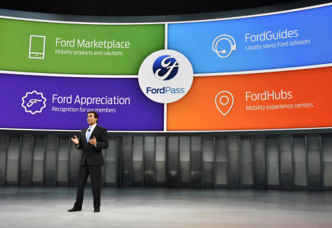 Ford vil vise ny bil og nye teknologier på  Mobile World Congress i Barcelona.